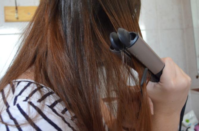 planchado del cabello